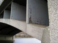 Štefánikův most - obnažená výztuž