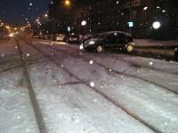 Zrádné koleje - ulice Sokolovská