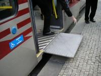 Tramvaj T3R.P-LF - ovládání nájezdové desky