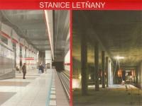 Stanice Letňany budoucnost - výstavba