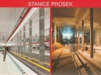 Stanice Prosek budoucnost - výstavba
