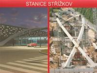 Stanice Střížkov budoucnost - výstavba