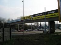 Most přes Poděbradskou