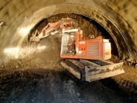 Stavba tunelu Marie - Lochkov