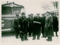 Zahájení povozu trolejbusů v Pardubicích - 1952