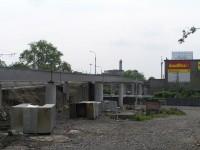 Stavba mostní konstrukce - Českobratrská ulice v Ostravě