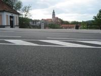 silnice II/160 Český Krumlov
