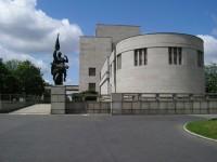 Památník - pohled z jihovýchodu