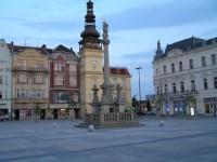 Mariánský morový sloup - Masarykovo náměstí v Ostravě