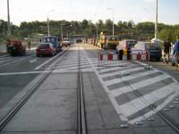 Štefánikův most - nové povrchy, tramvajová trať