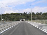 Povrch Štefánikova mostu po rekonstrukci