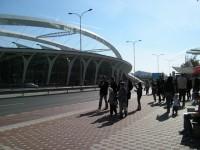 Stanice Střížkov - autobusová zastávka