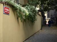 Na Stínadlech - pohled od Anežské ulice