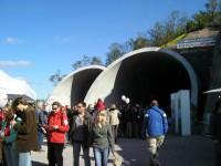Návštěvní den - západní portály tunelů pod Vítkovem