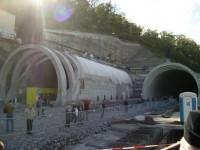 Východní portály tunelů