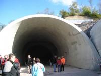 Západní portál tunelu