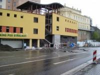 Stavba parkovacího domu - Tábor
