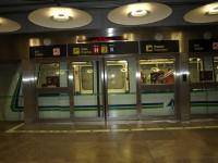 Madrid - Letiště Bajaras - podzemní dráha