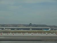 Madrid - Letiště Bajaras - Terminál 4 - celkový pohled