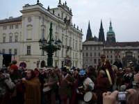Tři králové na Hradčanském náměstí
