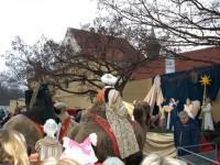 Jesličky na Loretánském náměstí