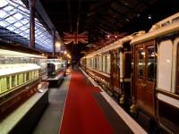 York - Železniční muzeum - královské vozy