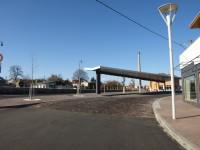 Dopravní terminal - Vlašim - úprava místa pro přecházení