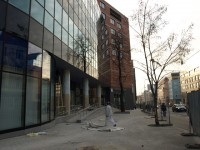 Praha 9 - Galerie Fénix - ulice Sokolovská