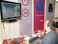 Ukázka programu dopravní výchovy na stánku LK