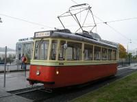 DPMB - historická tramvaj z 50. let