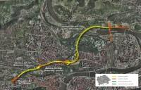 Mapa Městský okruh