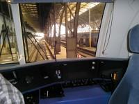 TAURUS - výhled z kabiny strojvedoucího