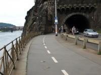 Vyšehradský tunel - jižní portál