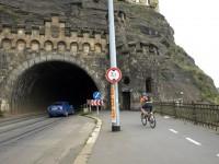 Vyšehradský tunel - pohled od severu