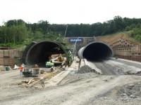 Tunel Komořany - západní portál