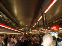 Metro Letňany - strop