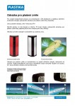 Plastika - rohove odrazky