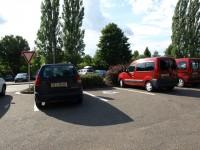Ratibořice - parkování pro invalidy