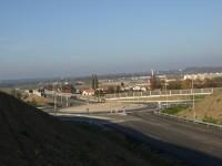 Holice - obchvat křižovatka s I/36