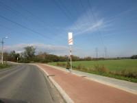 Ostrava - cyklistický pruh