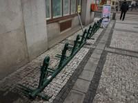 Ostrava - Prokešovo náměstí - stojany na kola