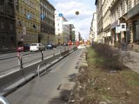 Praha - Legerova ulice - úpravy 14.3.2009