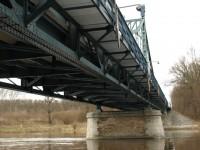 Obříství - most - technická památka