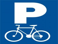 Dopravní značka pro parkování kol