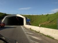 Jižní portál jihlavského tunelu