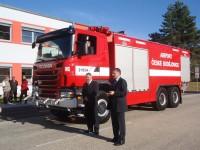 ČB - předání hasičského vozu