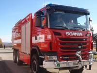 Letiště ČB - nový hasičský vůz