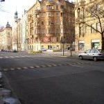 Křižovatka Finská x Kodaňská – Praha 10