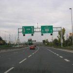 Projíždíme tunelem Mrázovka a Strahovským tunelem