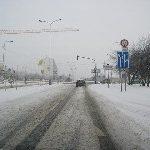 Dopravní situace v Praze aneb zimní gumy hodně umí!